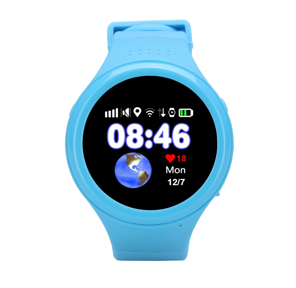 ФОТО New Child Smart Watch T88 With GPS Global Positioning Baby Watchs Kid Safe Anti-Lost Monitor SOS Call Location Device Tracker