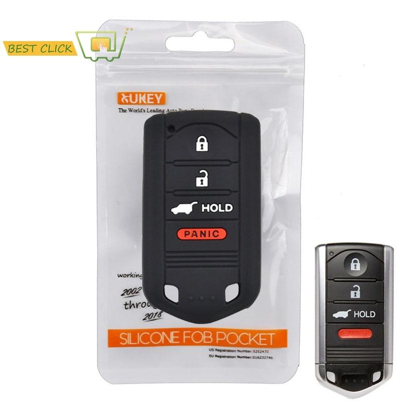 Leather Car Key Cover For Acura MDX ZDX RDX TLX TSX TL Remote Car Key Keyless