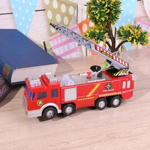 Image 2 - New Style Water Spray Fire Engine Car Toy Electric Fire Truck Children Educational Vehicle Toy for Boy High Quality Gifts