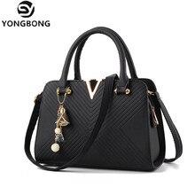 YONGBONG Frauen Handtasche Pu-leder Tasche Marke Tote Weiblich Stil Abendtaschen Reißverschluss Hohe Qualität Tasche Lady Original Design Taschen Sac