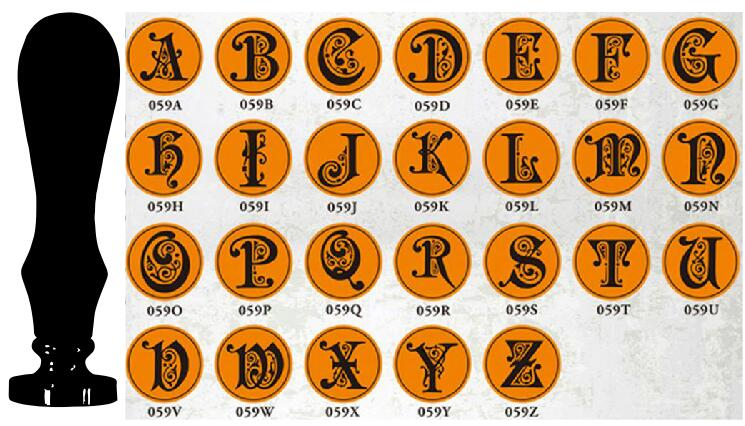 2017 New Wholesale 1pc Vintage rose Wooden Handle Gothic Letter Alphabet Wax Badge Seal Stamp Wax Letter A-Z choose new classic vintage alphabet a z optional wax badge seal stamp letter wax seal kit set handmade hobby tools e2s