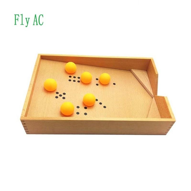 Fly AC Montessori éducatif développement précoce jouet-soufflant boîte avec boule cadeau d'anniversaire