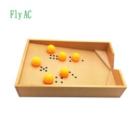 Fly AC Montessori Educational Early Developing Toy Blowing Box with Ball Birthday Gift
