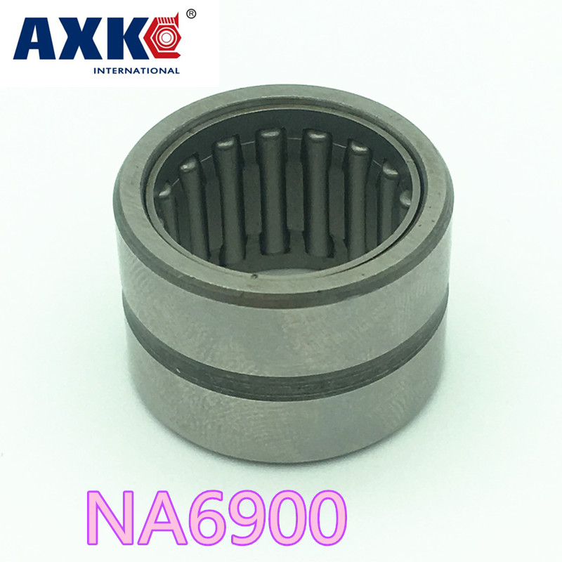 Na6900 Bearing 10*22*22 Mm ( 1 Pcs ) Solid Collar Needle Roller Bearings With Inner Ring 6534900 6254900/a Bearing