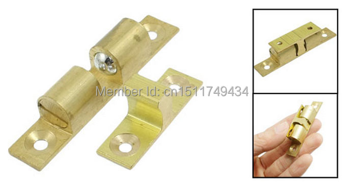 Home Door Latch Double Ball Catch 60mm Length Gold Tone 10 Pcs In Cabinet Catches From Improvement On Aliexpress Alibaba Group