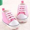 Zapatos de lona Del Bebé Recién Nacido Niños Niñas Primeros Caminante Zapatillas Infantiles del Niño Del Bebé Mocasines Primer Paso Caminar Zapatos