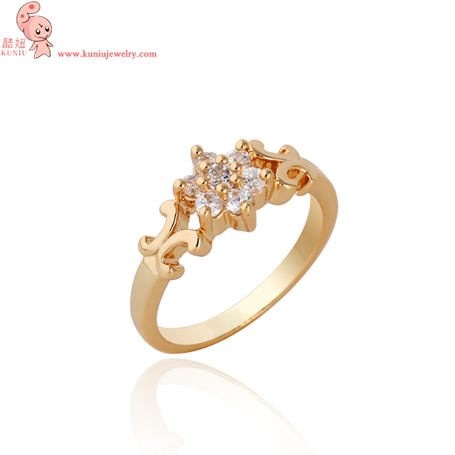 wholesale fine jewelry White long crystal wedding engagement ring
