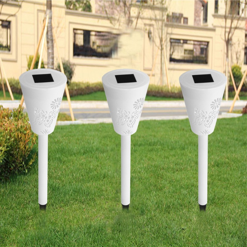 3Pcs Butterfly Solar Power Light Contorl 7 Color Changing RGB LED Lawn Light Outdoor Landscape Saves Energy LED Garden Lamp
