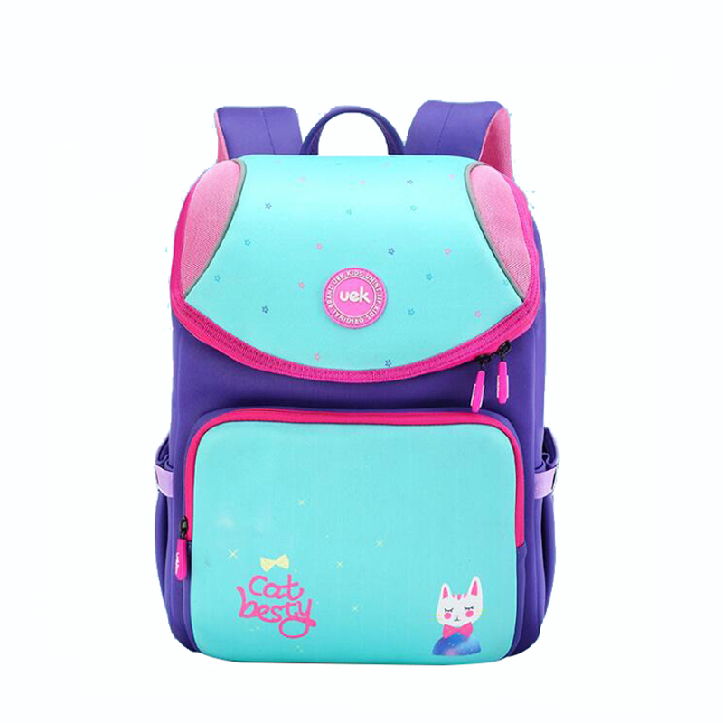 2019 Cartoon Girl school bag Casual Waterproof School Bag Child Bag Neoprene Backpack Mochila Infantil Orthopedic
