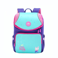 2019 Cartoon Girl school bag Casual Waterproof School Bag Child Bag Neoprene Backpack Mochila Infantil Orthopedic Schoolbag