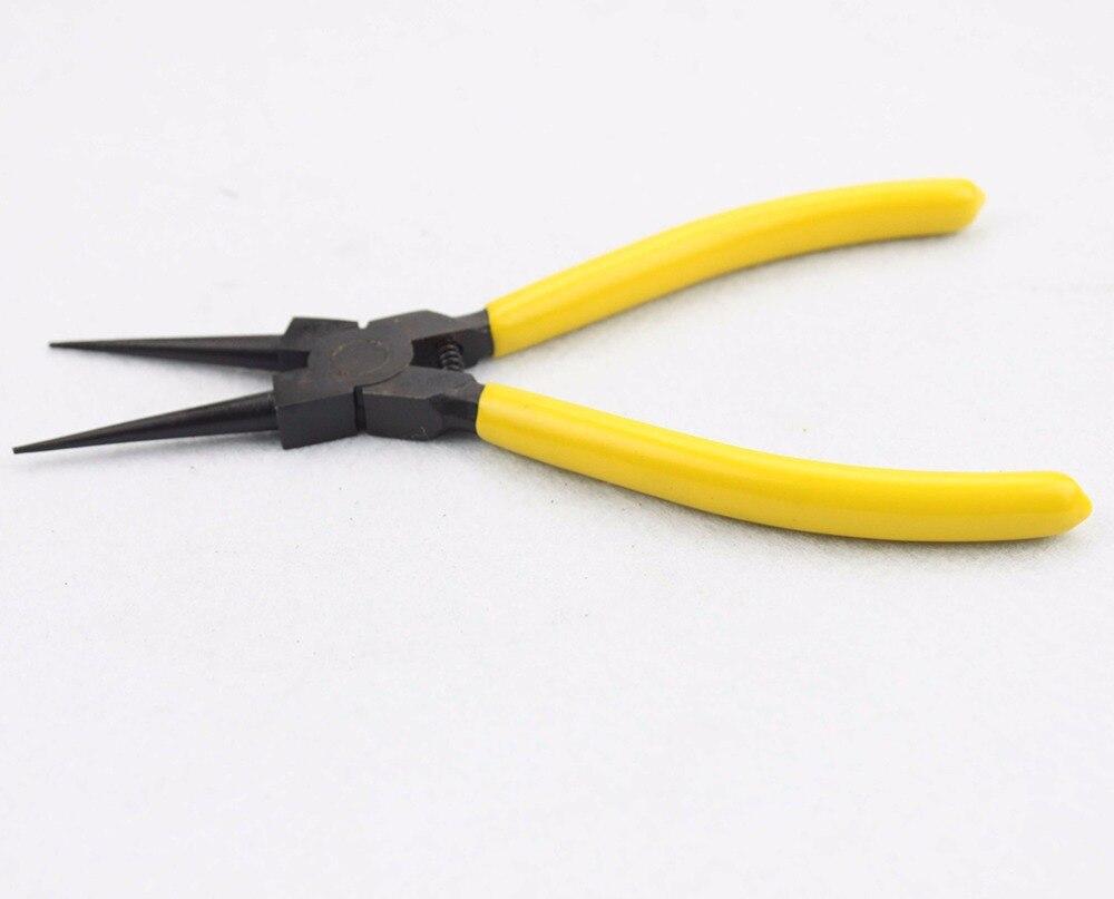 GOOFIT Hand Tool Internal Straight Precision Retaining Ring Circlip Pliers A012-018