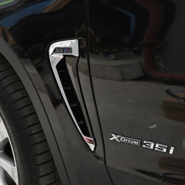 Beste Voor BMW X5 F15 2014 2015 2016 2017 Auto styling ABS Chrome Side LB-42
