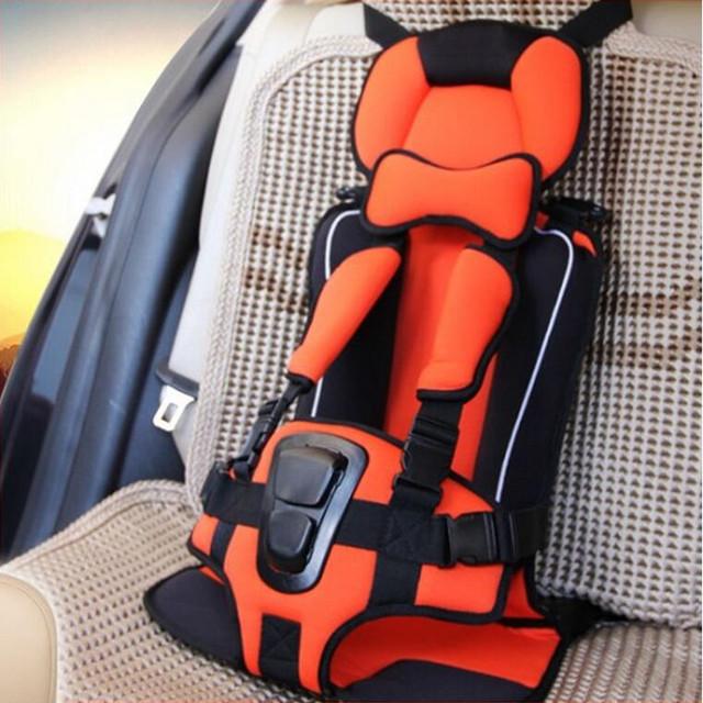 4 Colores Que Viajan Asiento de Bebé, Asiento de Seguridad Del Coche, Asientos de seguridad Infantil Portátil para 0-12 Años de edad Los Niños