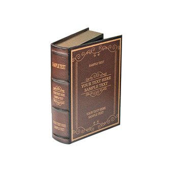 Big Size Home Art Decoration Book Display Art Model Vintage Wooden Decorative Storage Box Book