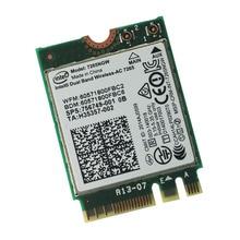 Новый и оригинальный Intel двухдиапазонный беспроводной оптово-ac 7265 7265NGW ( NGFF ) карты 802.11ac 867 м 2 x 2 Wifi BT4.0