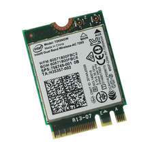 new and original Intel Dual Band Wireless-AC 7265 7265NGW (NGFF)Card 802.11ac 867m 2×2 Wifi BT4.0
