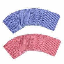 Waterproof Durable PVC Scrub Type Plastic Playing Cards