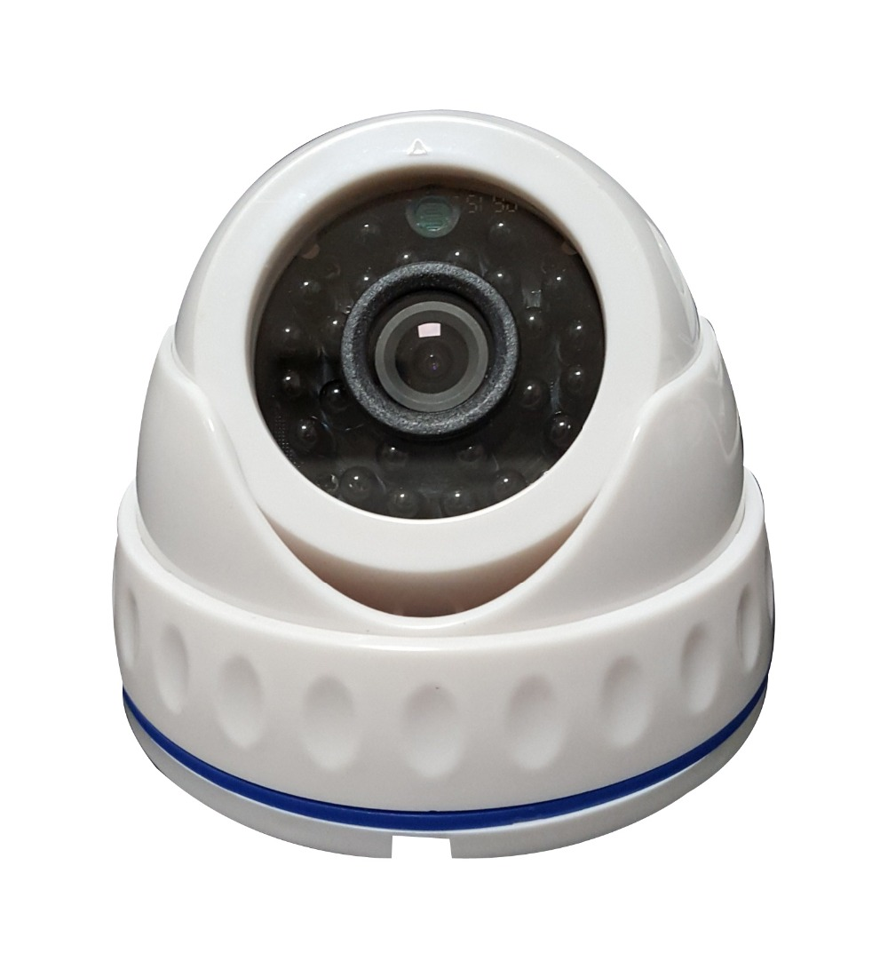 Hot Sell 800TVL Plastic 2.8mm Infrared  Economic Dome Security Camera economic methodology