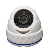 Hot Sell 800TVL Plastic 2.8mm Infrared Economic Dome Security Camera
