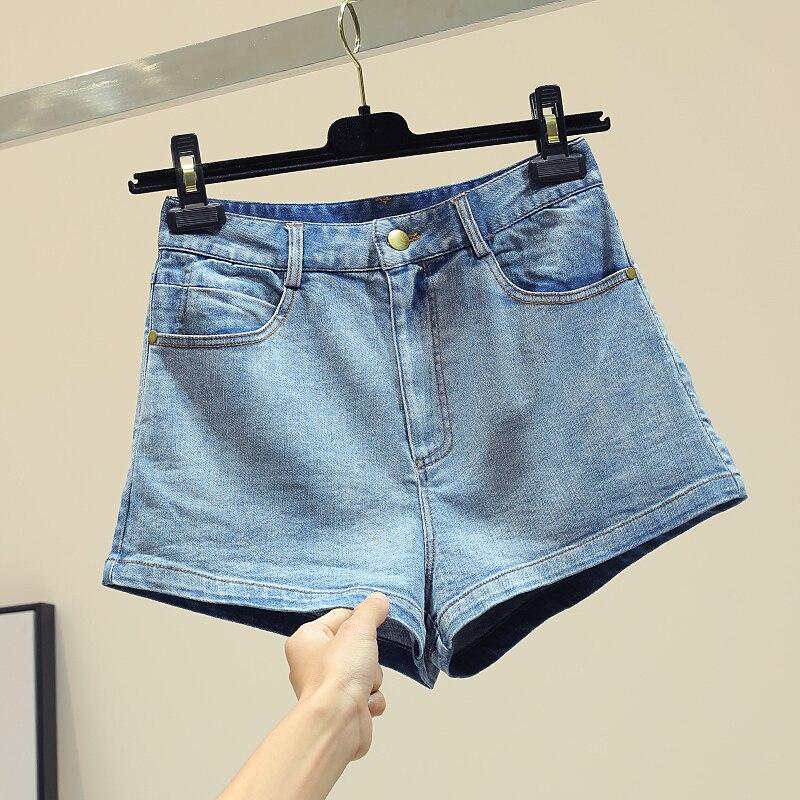 Mince Larges Nouvelle Jeans 2019 Bleu Courts Taille En Papillon Femmes Printemps Femme Jambes Short Chic Haute À Dentelle Jean Shorts Montré Coréenne XvrHZvS