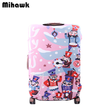 Mihawk The Nutcracker Elastic Protective Luggage Cover Travel Cartoon Suitcase Accessories Protect Dust Bag Case Supply