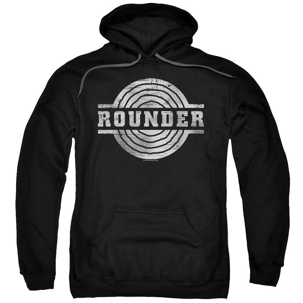 ROUNDER MUSIC RETRO LOGO Licensed Sweatshirt Hoodie