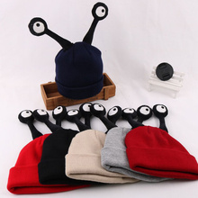Children Winter Beanie Cap Cute Insect Snail Cartoon Baby Hat Warm Crochet Knitting Wool Hats 998 garment 2017 white unisex knitting wool crochet cap women warm winter outdoor hat beanie cap for lady