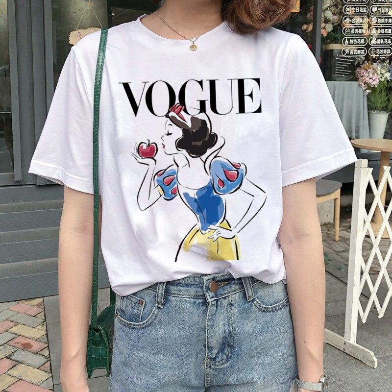 New Graphic Vogue T Shirt Women Fashion Harajuku Ullzang Cartoon T-shirt Funny Printed 90s Tshirt Korean Style Top Tees Female 5