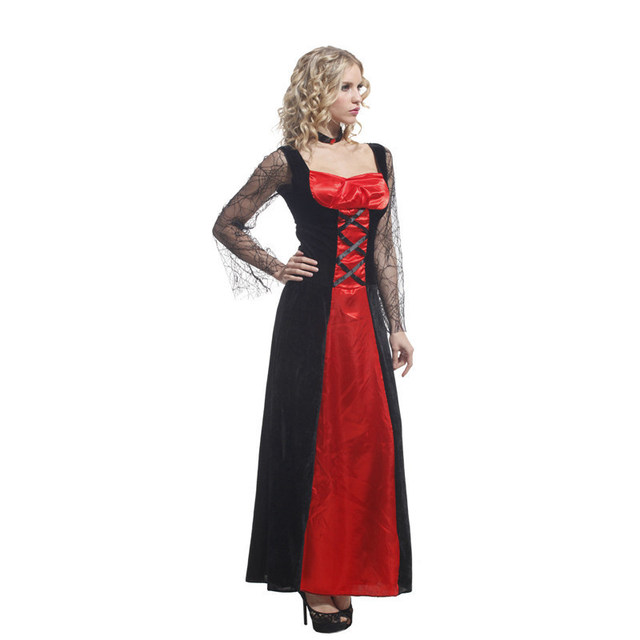 Christmas Carnival halloween costumes for women plus size sexy adult  Masquerade Party Fancy Dress Cosplay scary witch vampire 47c7022dc66e