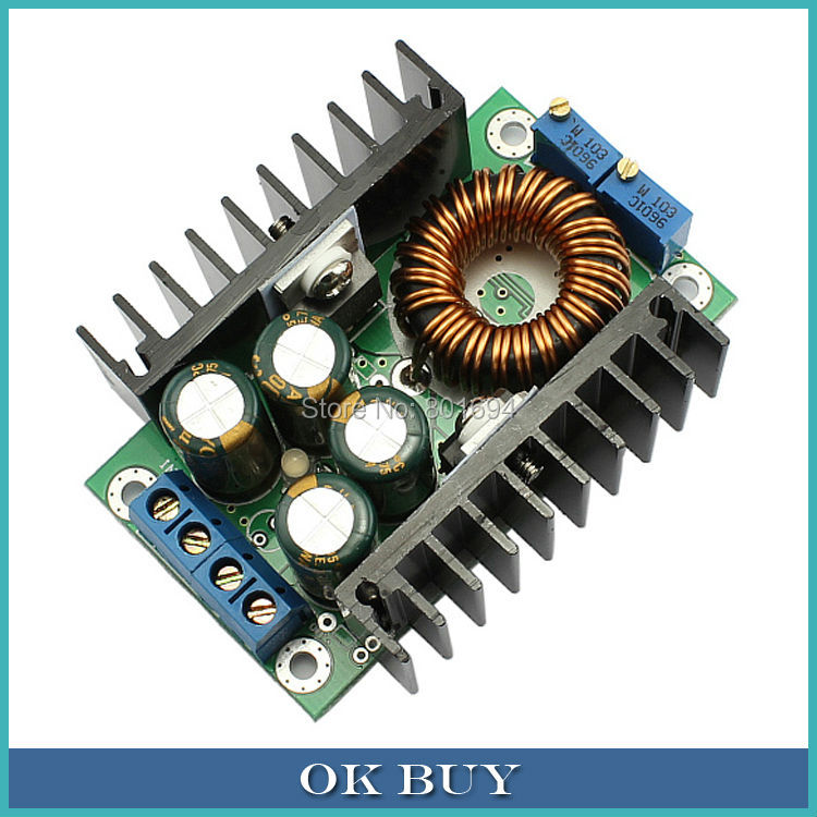 10 Pcs/Lot DC-DC Buck Converter Step-Down Voltage Module 6V 12V 20V 24V  Adjustable Power Supply 7-40V to 1.2-35V 8A 300W