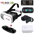 "Original Google Cardboard VR BOX II 2.0 VR Virtual Reality 3D Glasses For 4""-6"" Smartphone + Black Bluetooth Gamepad"