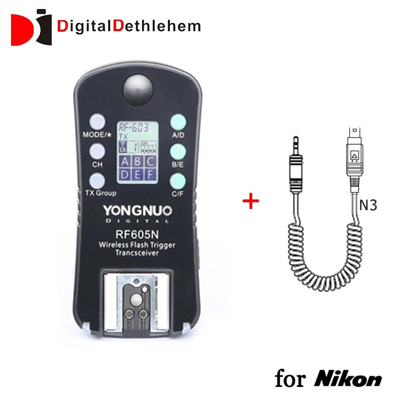 Yongnuo 2 4ghz Wireless Flash Trigger Lcd Screen Tx Rx Trx