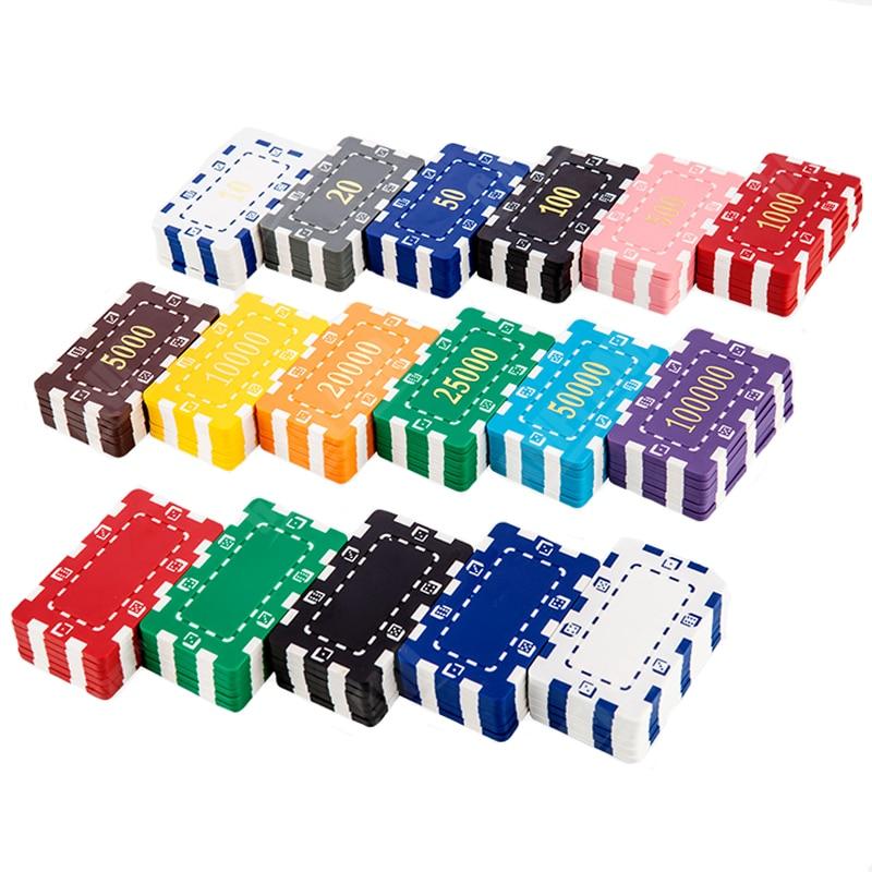 square poker chips big value pokerstars 30g 7444036cm abs poker chips - Poker Chips Set