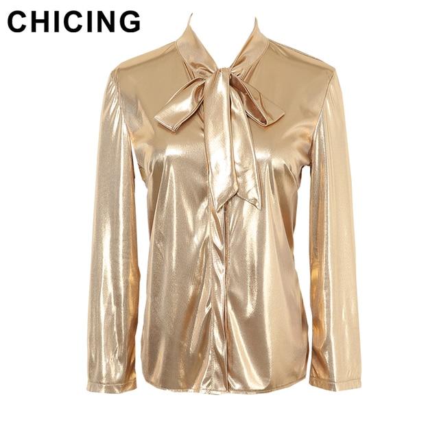 Chicing 2016 New Fashion Bling Bling Sequined Glitter Metallic Women