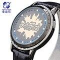 Xingyunshi relojes hombre Marca de Luxo dos homens relógios LED Moda Relógios de Negócios de Esportes Casuais Relógio Antigo Relogio Relojes
