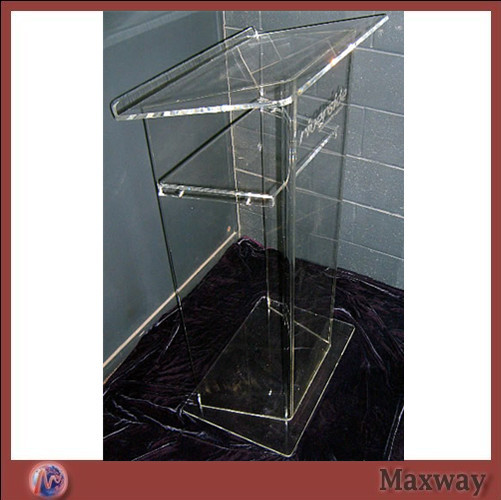 Clear Acrylic Lectern/Wide Range Of Application Plexiglass