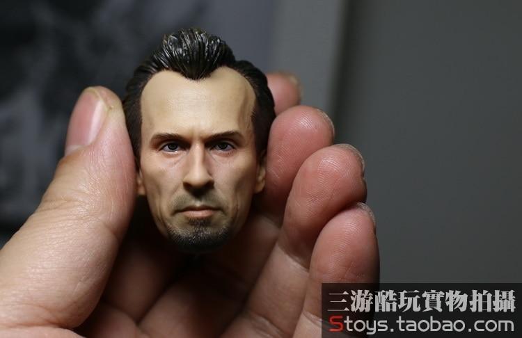 1/6 scale figure doll accessory Male Head shape Prison Break T-BAG Robert Knepper for 12 action figure doll Not included body