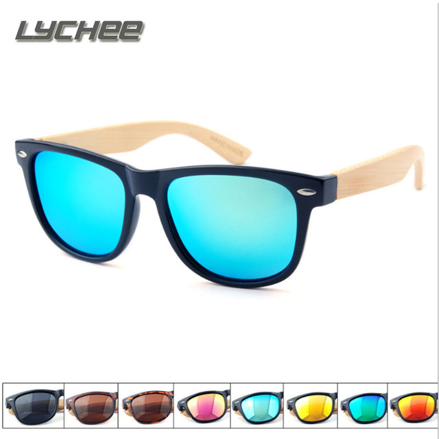 LYCHEE 2017 New High quality dazzling color polarized glasses trend men and women rice nail sunglasseswomen vintage sunglasses