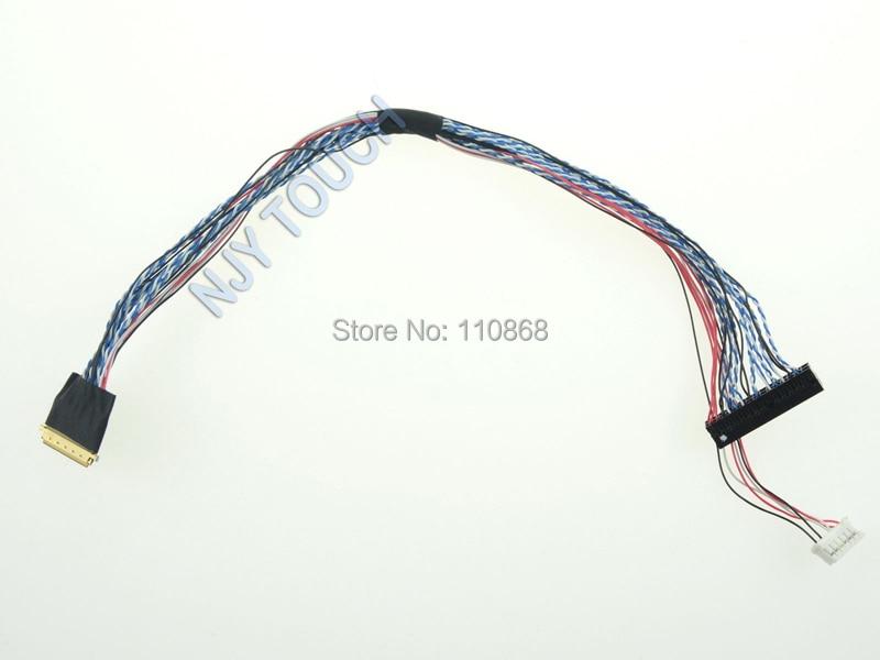 Pulsuz Göndərmə IPEX 20345 40 Pin LED Kabel I-PEX LP156WF1 LP156WF4 1920x1080 2ch 6bit 40 sancaqlar LED LCD 15.6 düym 17.3 düym