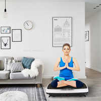 EU Plug Body Slimming Machine Pink Vibration Fitness Massager Weight Loss Machine Fat Burning Workout Equipments HWC