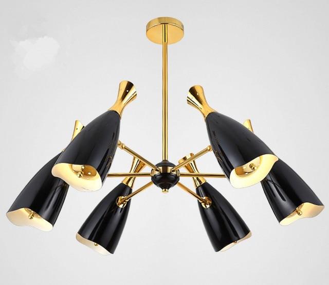 Moderne Replica Designer Lampe DUKE Kronleuchter Kreative Villa Verbindung Boden Wohnzimmer LED