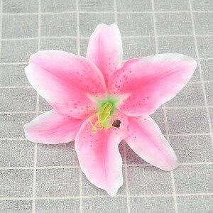 2 шт., Декоративные искусственные лилии 17 см