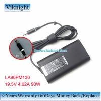 Genuine 19.5V 4.62A 90W LA90PM130 Power Supply 06C3W2 AC Adapter For STUDIO XPS 12 13 16 PRECISION M6500 Latitude E6440 6220