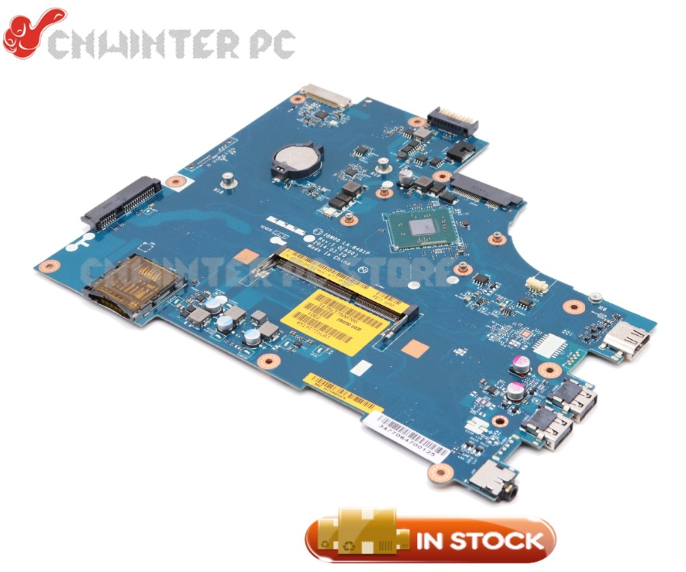 NOKOTION New CN-0Y3PXH Y3PXH 0Y3PXH LA-B481P Laptop Motherboard For Dell Inspiron 15R 3531 MAIN BOARD N3530 CPU DDR3 nokotion brand new cn 0y3pxh 0y3pxh for inspiron 15 3531 laptop motherboard zbw00 la b481p sr1w2 n3530 cpu onboard ddr3