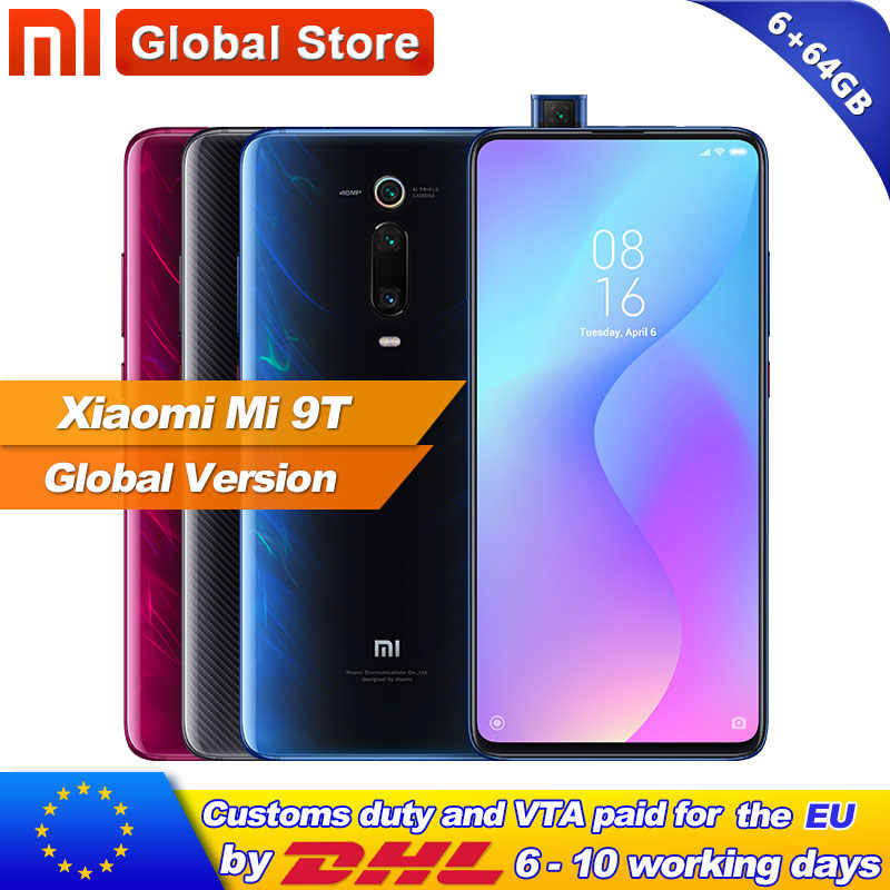 "Global Version Xiaomi Mi 9T(Redmi K20 )6GB 64GB Smartphone Snapdragon 730 Octa Core 6.39"" AMOLED Screen 48MP Camera 4000mAh"