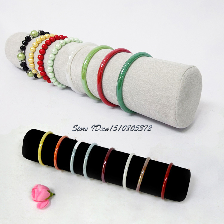 Aliexpress High Quality Velvet Bracelet Display Props Holder Bangle Showing Bar Ankle Stand Headwear Organizer From Reliable