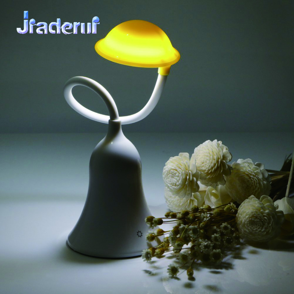 Jiaderui LED Hat Shape Table Lamp USB Rechargeable Touch Sensor Desk Lamp Portable Table Lamps Night Light Gift Decorating Lamp remote control led light creative monje smart air purifier wireless night lights sensor lamps gift table desk lamp