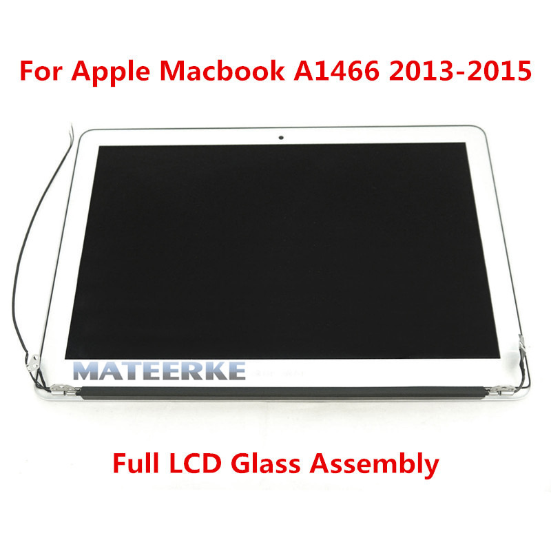 Original New Full LED Assembly LCD Screen For Apple MacBook Air A1466 2013 2014 2015 Version Complete Upper Parts brand new a1466 lcd screen assembly for apple macbook air 13 3 a1466 lcd screen display assembly 2013 2014 2015 year