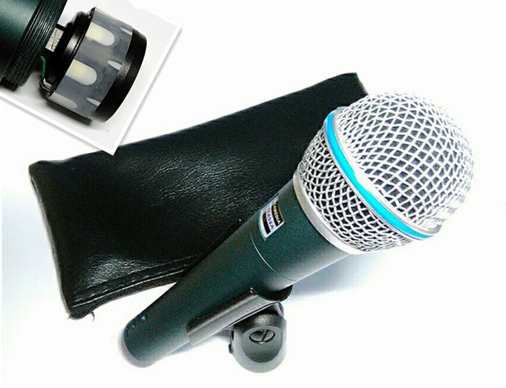 super cardioid microphone dynamic vocal wired microphone professional beta58a beta 58a 58 a mic. Black Bedroom Furniture Sets. Home Design Ideas