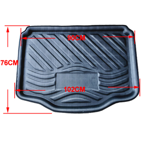 Image 5 - Car Rear Trunk Mat Cargo Luggage Tray Boot Liner Carpet Floor Cape For Chevrolet Chevy Holden TRAX TRACKER 2013   2019 2020